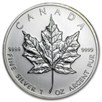 2010 1 oz Silver Canadian Maple Leaf (Brilliant Uncirculated)
