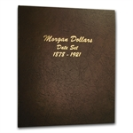Dansco Album #7171 - Morgan Dollars 1878-1921 - Date Set