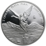 2009 2 oz Silver Mexican Libertad - Proof (In Capsule)