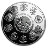 2009 5 oz Silver Mexican Libertad - Proof (In Capsule)