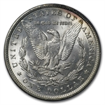 1878-1904 Morgan Dollars - MS-62 PCGS Rattler Holders