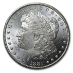 1881-CC Morgan Dollar - Brilliant Uncirculated