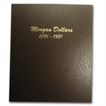Dansco Album #7179 - Morgan Dollars 1891-1921