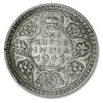 India Silver Rupees of George VI EF Random Dates