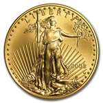 2008-W 1/2 oz Burnished Gold American Eagle (w/Box & CoA)
