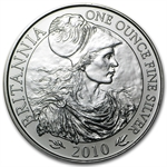 2010 1 oz Silver Britannia (Brilliant Uncirculated)