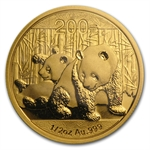 2010 1/2 oz Gold Chinese Panda (Sealed)