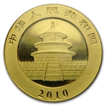 2010 1/4 oz Gold Chinese Panda - (Sealed)