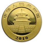 2010 1/10 oz Gold Chinese Panda (Sealed)