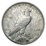 1923 Peace Dollar - Extra Fine - VAM-1D Whisker Cheek Top-50