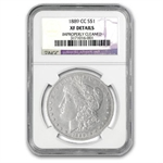 1889-CC Morgan Dollar - Extra Fine Details Cleaned NGC