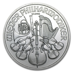 2010 1 oz Silver Austrian Philharmonic - Brilliant Uncirculated
