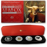 2009 Year of the Ox Silver Typeset Collection (SII)