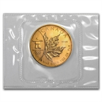 2008 1 oz Gold Canadian Maple Leaf (Vancouver) - Olympic