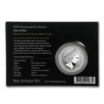 2010 1 oz Australian Silver Kangaroo (In Display Card)