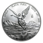 2010 1 oz Silver Mexican Libertad (Brilliant Uncirculated)