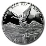 2010 1 oz Silver Mexican Libertad - Proof (In Capsule)