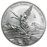 2010 2 oz Silver Mexican Libertad (Brilliant Uncirculated)