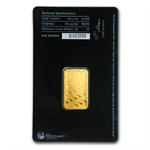 10 gram Perth Mint Gold Bar .9999 Fine (In Assay)