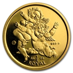 Gibraltar 1/5 oz. Royal Gold Unc/Proof (Random)
