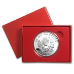 1 oz Be My Valentine Silver Round (w/box & capsule)