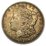 1921-D Morgan Dollar - XF-45 - VAM-1A In God We Tru-t Top-100
