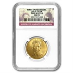 2009-W 1/2 oz Gold Julia Tyler MS-70 NGC