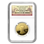 2009-W 1/2 oz Proof Gold Julia Tyler PF-70 NGC UCAM
