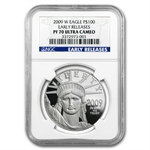 2009-W 1 oz Proof Platinum American Eagle PF-70 NGC (ER)