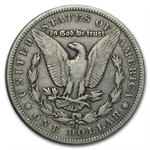 1879-CC Morgan Dollar - Fine - Capped CC