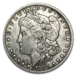 1888-O Morgan Dollar - Extra Fine - HOT LIPS VAM-4 Doubled Die