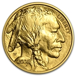 2008-W 1/10 oz Uncirculated Gold Buffalo (w/Box & CoA)
