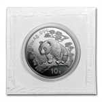 1997 1 oz Silver Chinese Panda - (Sealed) - Large Date