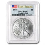1986-2011 Silver American Eagle - Set MS-69 PCGS