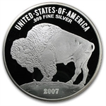 12 oz Proof Silver Round Fraser's Buffalo Nickel Design .999 Fine