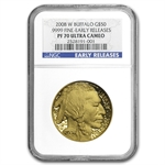 2008-W 1 oz Proof Gold Buffalo PF-70 NGC (Early Releases)