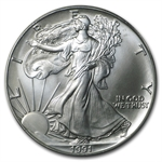 1991 Silver American Eagle - PCGS MS-69 - World Trade Center