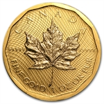 2009 1 oz Gold Canadian Maple Leaf .99999 Variety (No Assay)