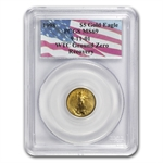 1998 1/10 oz Gold American Eagle MS-69 PCGS (World Trade Center)