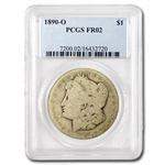 1890-O Morgan Dollar Fair-2 PCGS Low Ball Registry Coin
