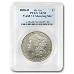 1888-O Morgan Silver Dollar AU-50 PCGS (VAM-7A Shooting Star)