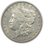 1886-S Morgan Dollar Almost Uncirculated-53 NGC