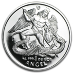 Isle of Man 1995 1 Oz. Silver Proof Angel Coin