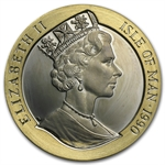 Isle of Man 1990 1 Crown Proof Gold 1 oz - Penny Black
