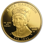 2009-W 1/2 oz Proof Gold Anna Harrison PR-69 PCGS DCAM