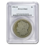 1901-O Morgan Dollar Fair-2 PCGS Low Ball Registry Coin