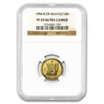 Isle of Man 1994 1/10 oz Gold Noble NGC PF-69 UC