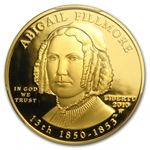 2010-W 1/2 oz Proof Gold Abigail Fillmore PR-69 DCAM (FS) PCGS
