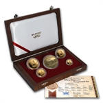 2003 5-Coin Proof Gold Krugerrand Set (Tiffany Diamond)