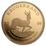 2009 4-Coin Proof Gold Krugerrand Set PF-69 NGC UCAM